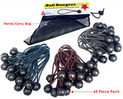 Ball Bungees - 60 Pack