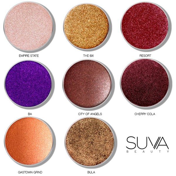 SUVA Beauty Shimmer Eyeshadows Individual