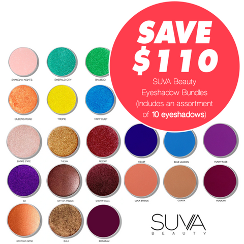 BLACK FRIDAY SUVA 10 Eyeshadow bundle