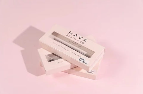 HAVA BEAUTY CO- 'LITE' Luxe Individual lashes