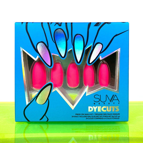 Suva Beauty Dyecut Press On Nails- I GOT THE RECEIPTS