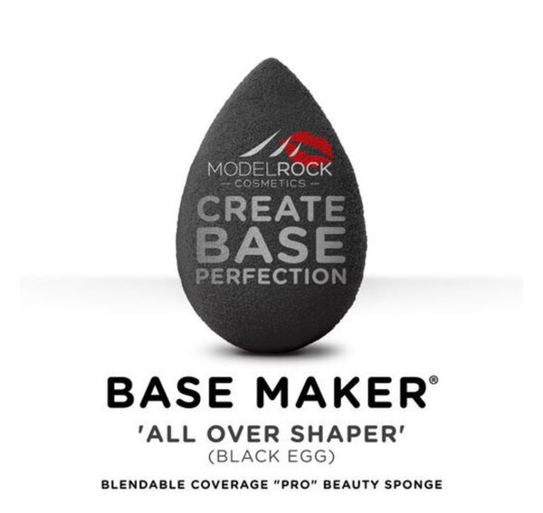 Modelrock Base Maker® - Single Sponge - 'ALL OVER SHAPER' (Black Egg)
