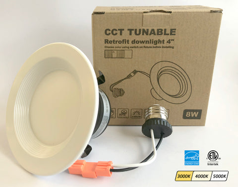 3CCT 4-Inch Retrofit Downlight (for 4-inch housings)