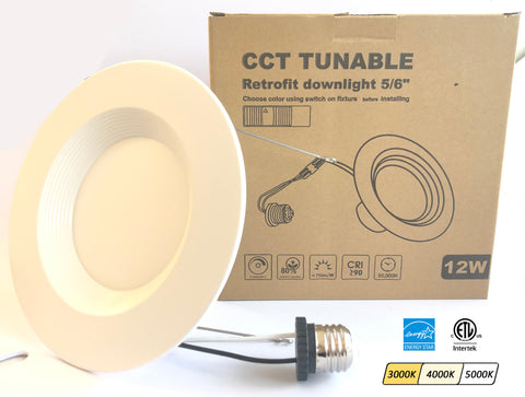 3CCT 6-Inch Retrofit Downlight (for 5/6-inch housings)