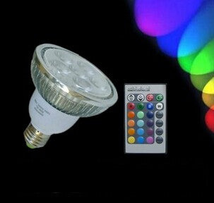 HISUN LED PAR38 14 Watt RGB Remote Control Light Color Changing Bulb