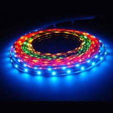 "HISUN LED RGB Strip Lights Waterproof 72W 12V  16'5"" 300 unit SMD 5050 LEDs"