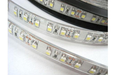 "HISUN LED Strip Lights Waterproof IP63 72W 12V  16'5"" 300 unit SMD 5050 LEDs"