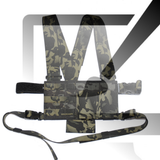 Design your own chest rig with our proprietary drag-n-drop chest rig builder