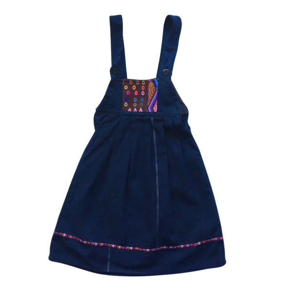 huipil and indigo 2-4 years pinafore