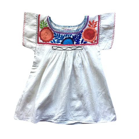 childrens embroidered cotton shirt