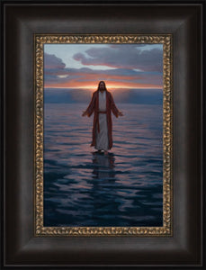 Come Unto Me - Framed 10x15