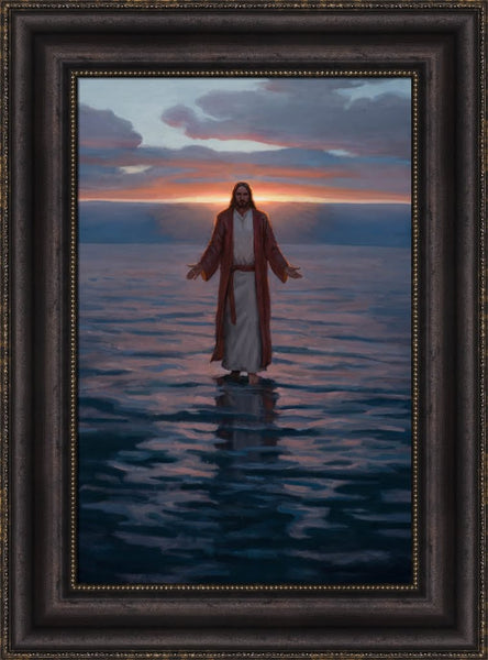 Come Unto Me - Framed 14x21