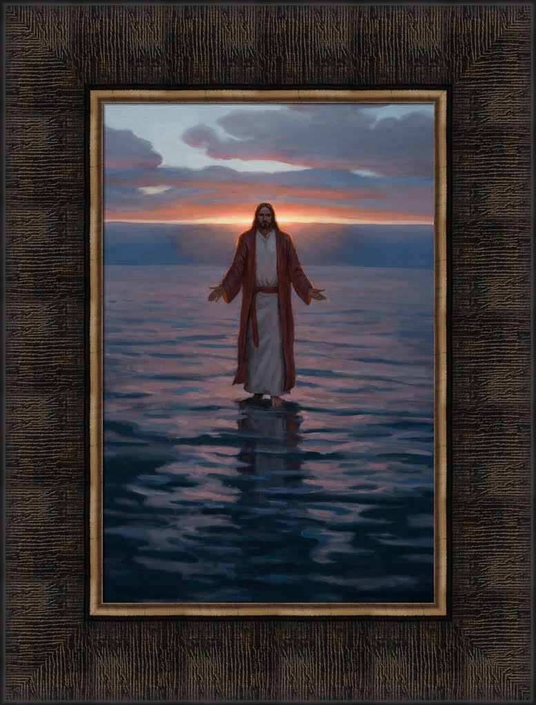 Come Unto Me - Framed 8x10
