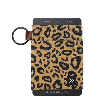 Thread Wallet- Elastic Card Holder FIERCE