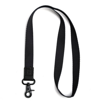 Thread Wallet Lanyard BLACK