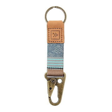 Thread Wallet Keychain Clip VERSE