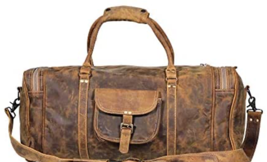 The Soulful Leather Weekend Bag