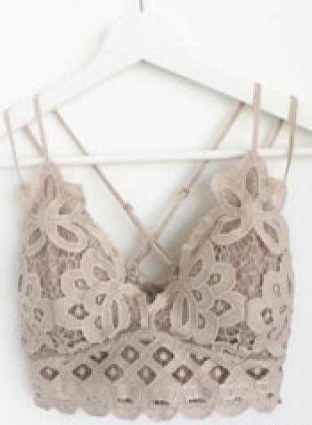 Lace Scalloped Bralette