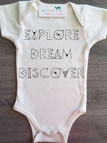 Explore Dream Discover Onesie