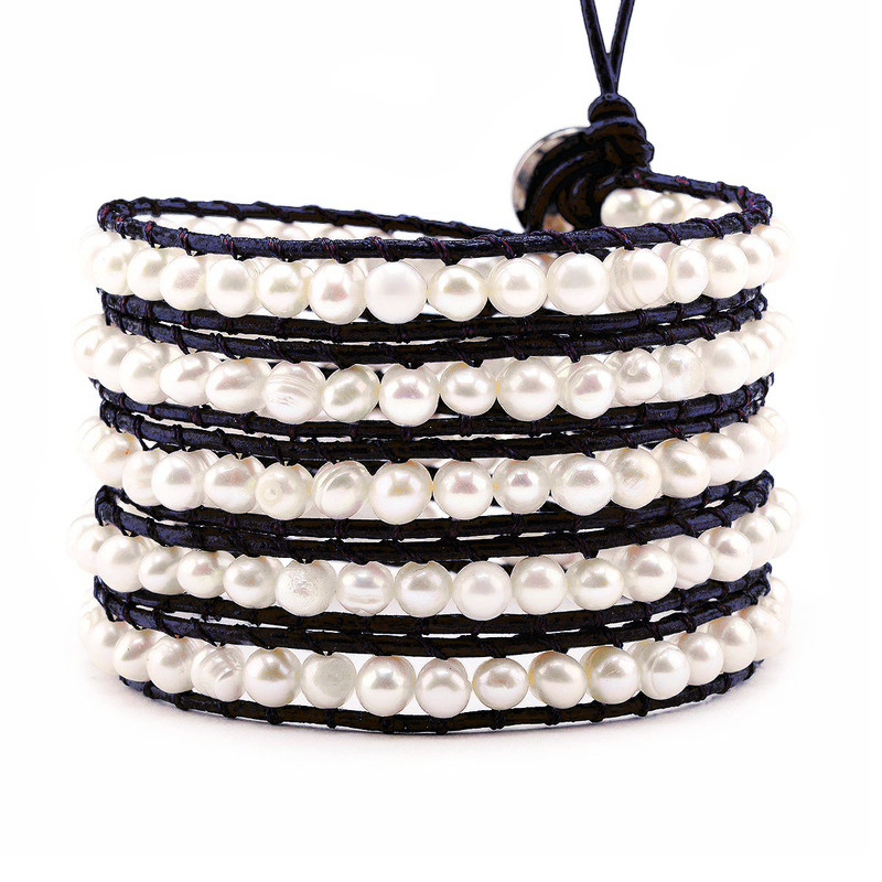 Victoria Emerson Fresh Water Wrap Bracelet
