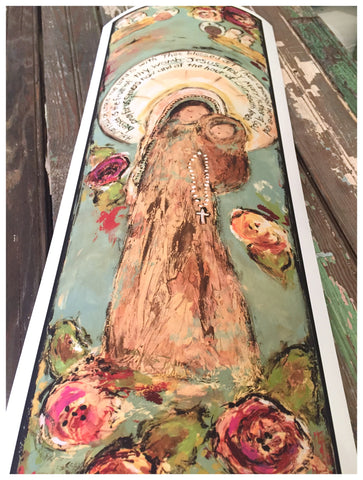 Blessed Mother Giclee (please read details for framed giclees)