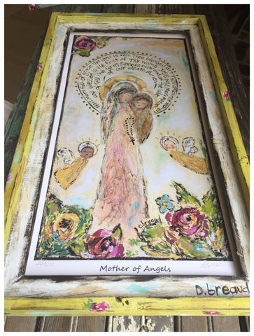 Mother of Angel giclee print