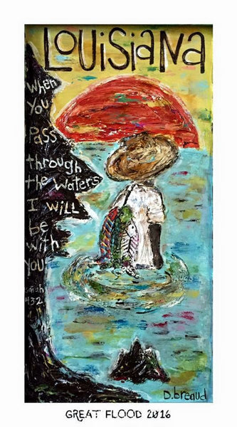Great Flood 2016 second edition GICLEE print