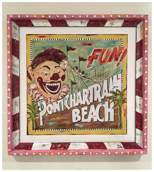 Pontchartrain Beach New Orleans Giclee- Limited edition 150