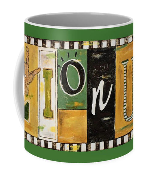Lion Up Coffee Mug 11 oz.