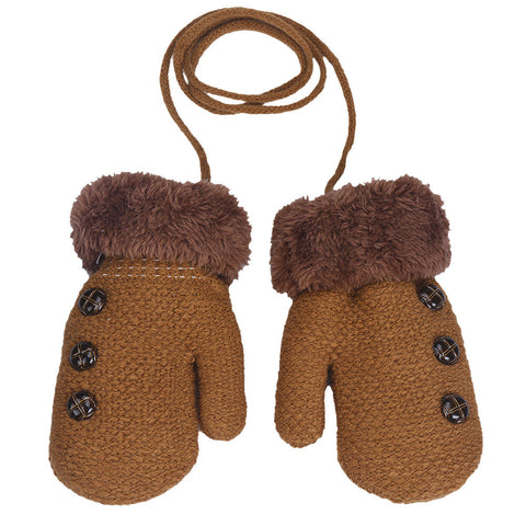 Unisex autumn winter kids Warm Glove