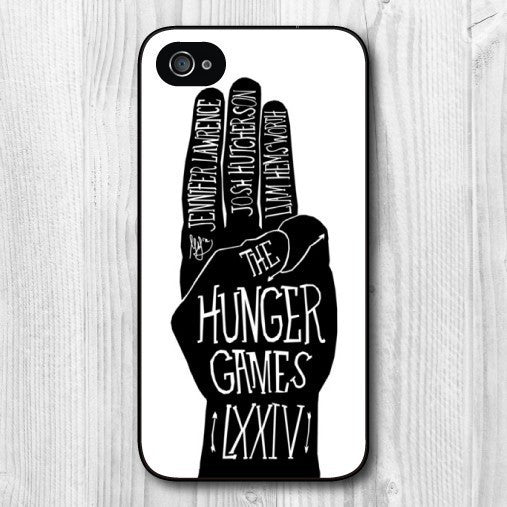 Hunger Games Plastic Hard Cover Case for iphone 4/4s/5/5s/5c/6/6plus/7/7plus