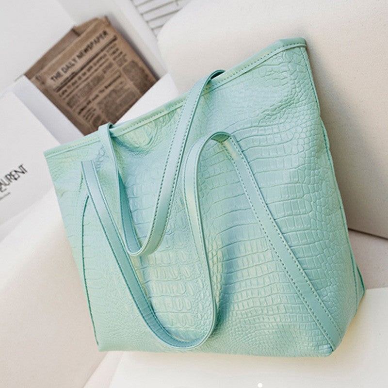 Casual PU Big Tote Bags - awashdress