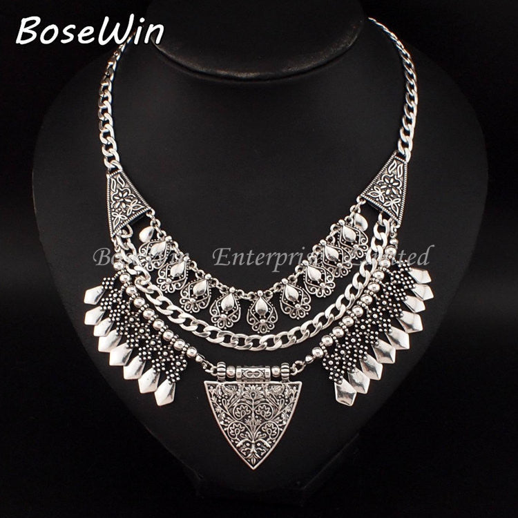 Bohemia Chic Design Fashion Necklace - awashdress