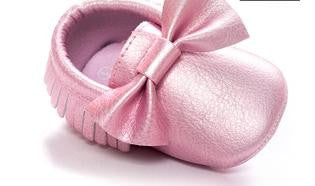 Soft Bottom Moccasin Babies Shoes