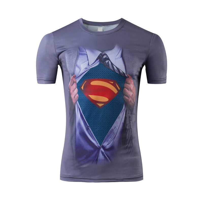 Superman 3D Print T-Shirt