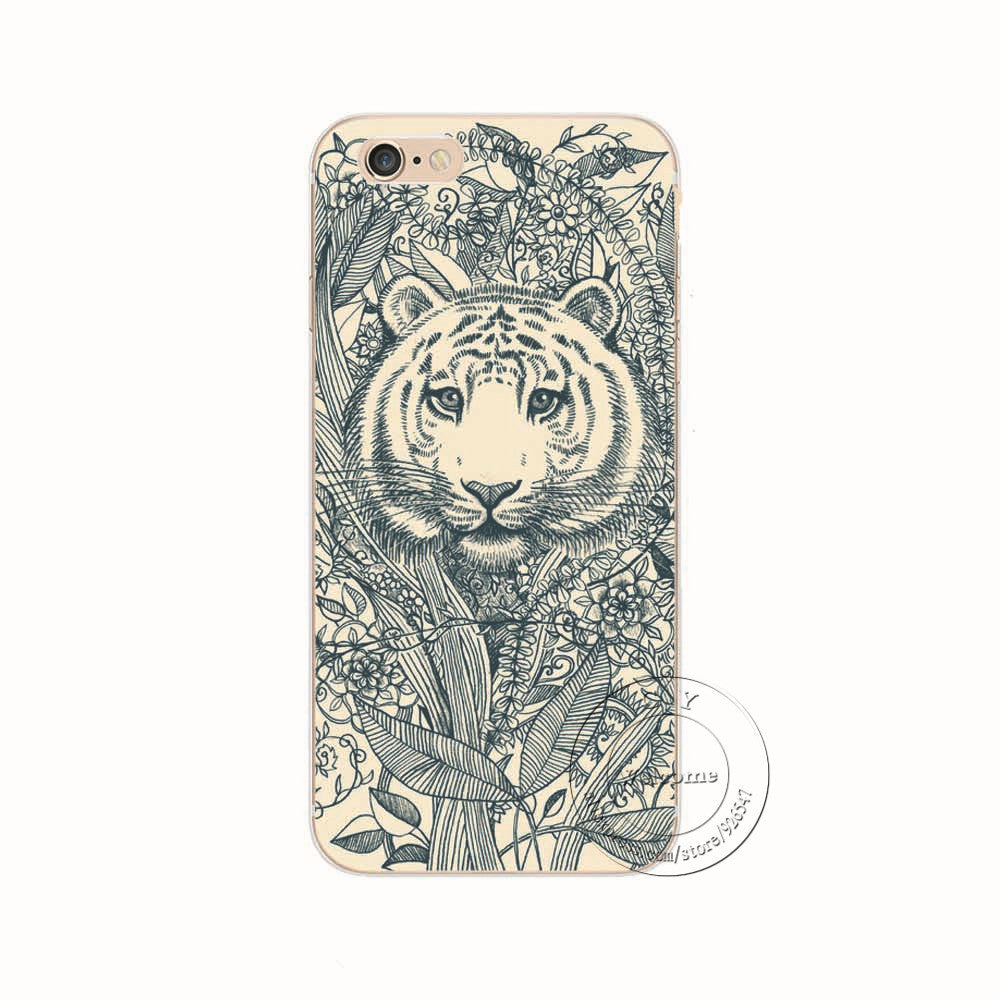 iPhone 5 5S SE 5C 6 6S 7 Plus 6SPlus Back Case Cover Printing Phone Case