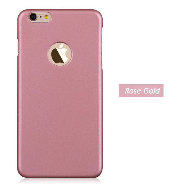 Ultra slim Phone back cover for iphone 6 6s Plus frosted hard Plastic Matte cover
