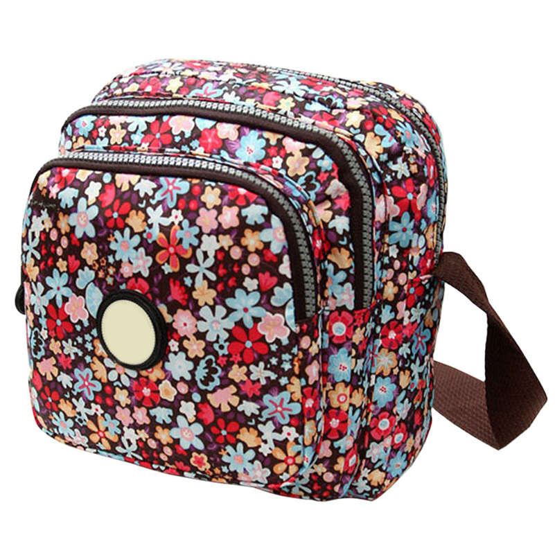 Canvas Print Crossbody Shoulder Bags= - awashdress