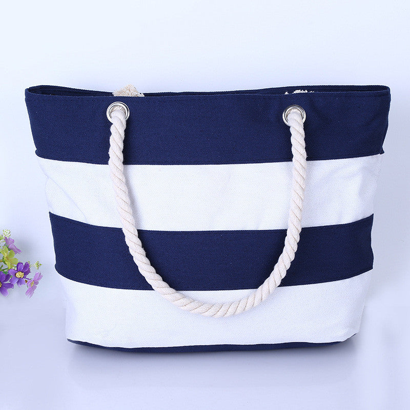 Stripes Printing Handbags