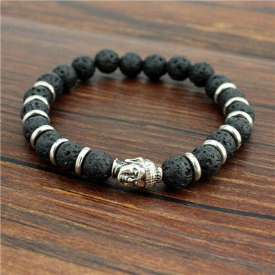 Buddha head beads - awashdress
