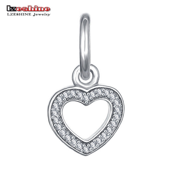 Angle Wings Romantic Heart Charm - awashdress
