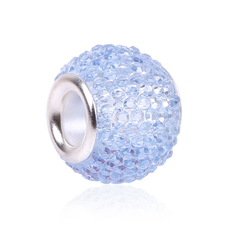 Glass Beads Charms Fit Pandora Charms Bracelets & Necklaces