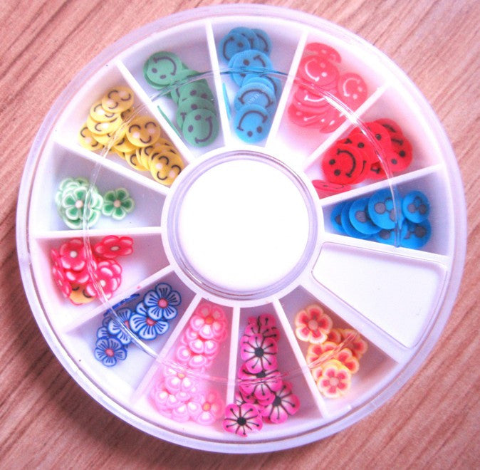 ONE box 12 colors  Nail art Decoration