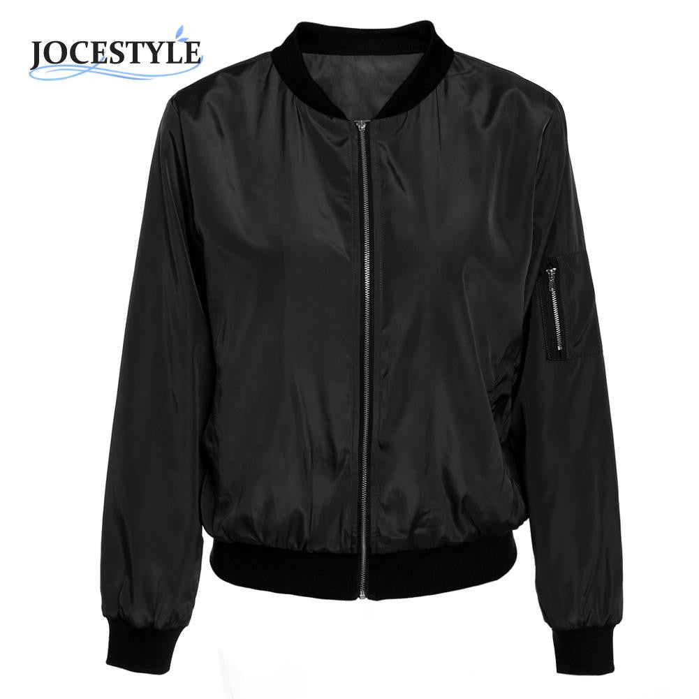 Vintage Zip Up Classic Padded Long Sleeve Biker jacket