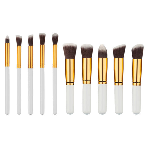 10pcs Makeup Brushes Foundation