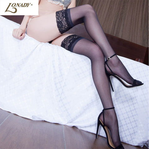 Thigh Highs Stocking Pantyhose Lace Top