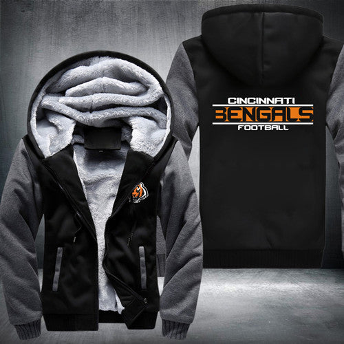 Super Warm Thicken Fleece Zip Up Hoodie