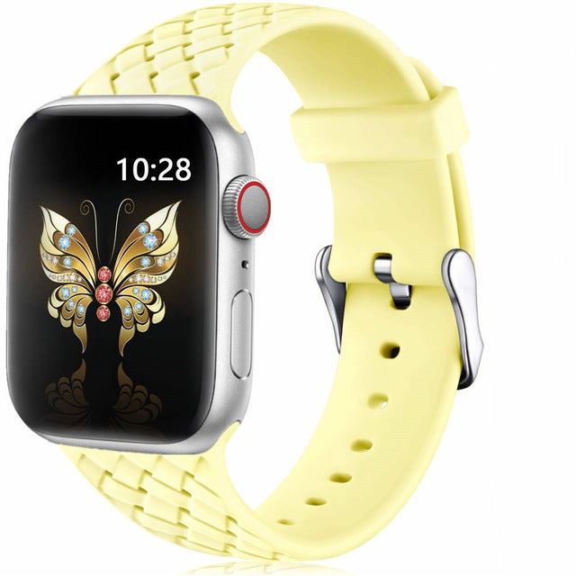 Silicone Strap for Apple watch 5 band 44mm 40mm iWatch band 42mm 38mm