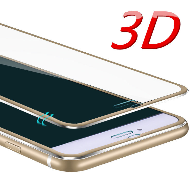 Aluminum alloy Tempered glass phone case For Apple iphone 6 6S 6 7 plus - awashdress