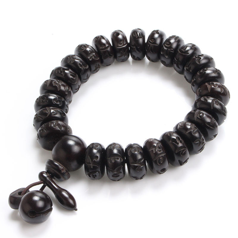 caps wood carved tibetan bead soho lazaro with wooden mens bracelet silver meditation horn bracelets